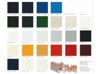 De IJssel Double Coat DD lak kleurenkaart