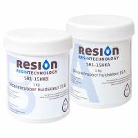 Huidkleurige siliconenrubber lifecasting