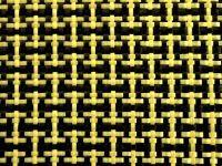Koolstof Aramide Kevlar weefsel hybride