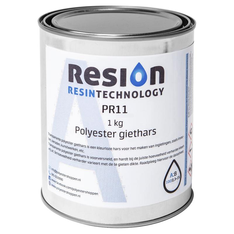 Polyester giethars transparant 1KG