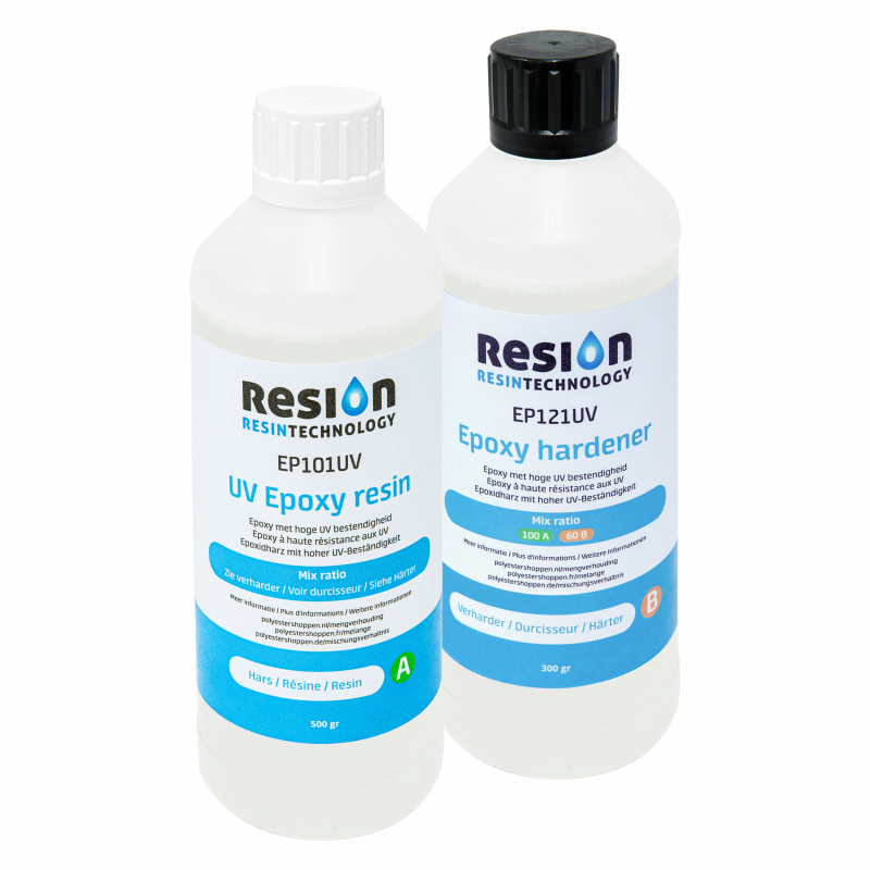 RESION UV epoxy resin 800 gram