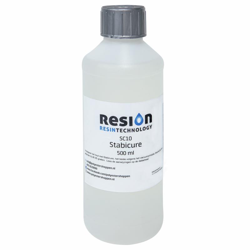 Stabicure resin voor hout stablisatie