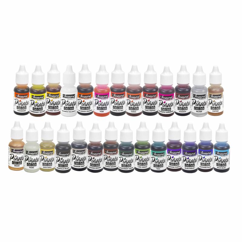 Pinata Alcohol Ink kleuren compilatie
