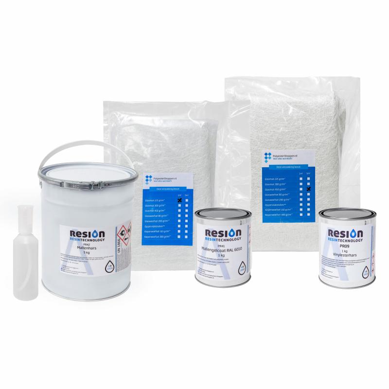Polyester mallenbouw pakket0,8KG