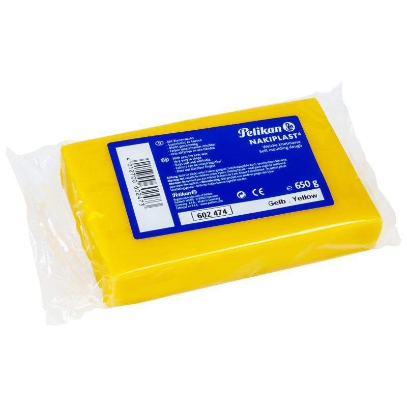Pelikan Nakiplast Modelklei geel voor siliconen epoxy