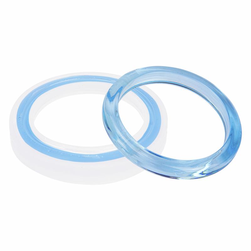 Moire armband siliconen mal