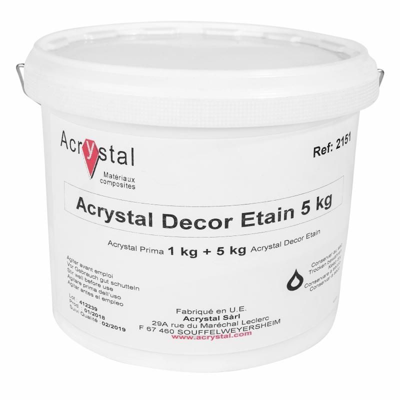 Acrystal Decor Etain poeder