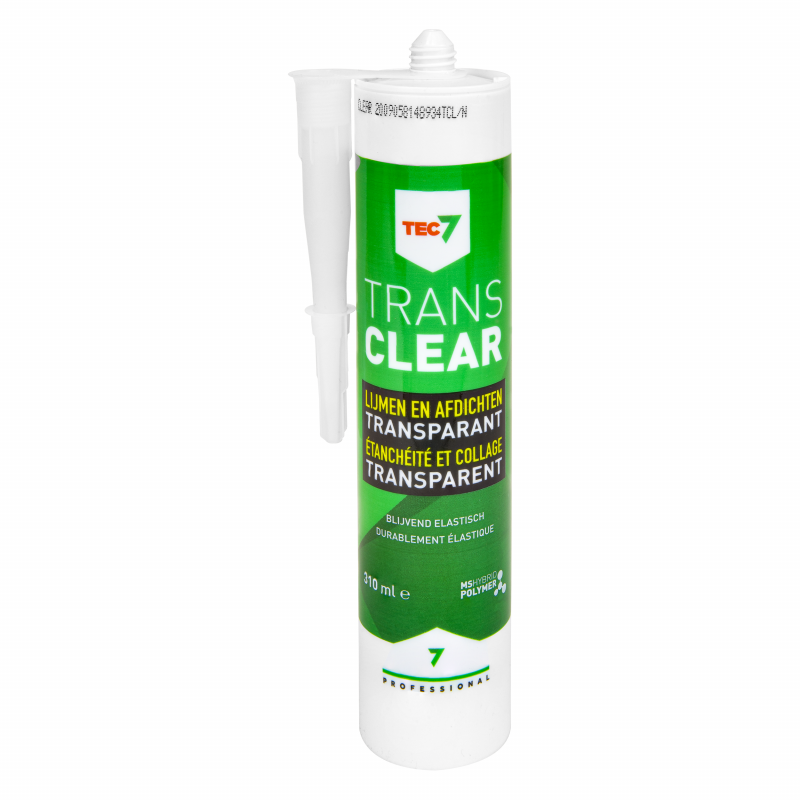 Tec7 Trans7 lijmkit MS Polymeer transparant