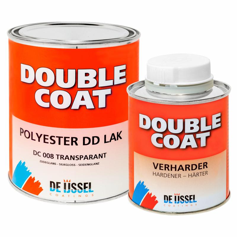 De IJssel DD lak double coat zijdeglans 1kg met verharder