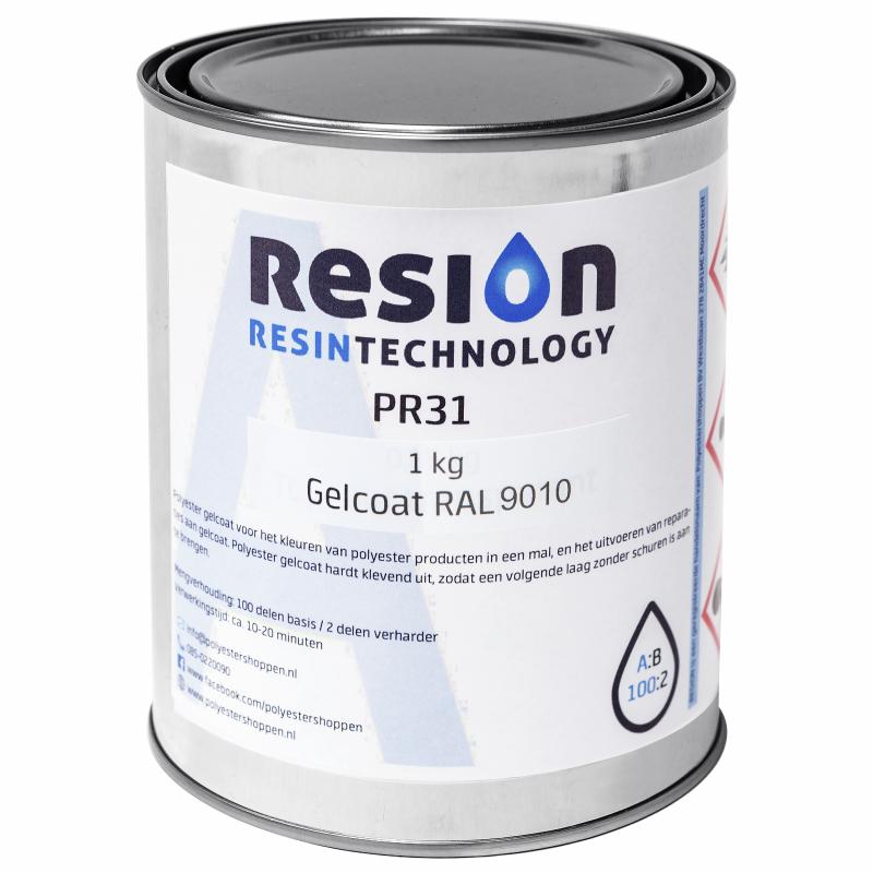 Polyester gelcoat in RAL kleur 1KG