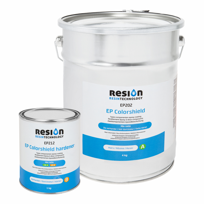 Ensemble de revêtement mural RESION EP Colorshield 5KG