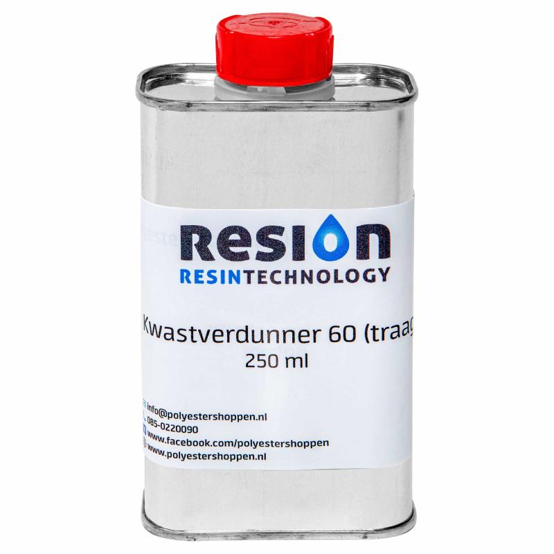RESION kwastverdunner traag 60 250ml verpakking