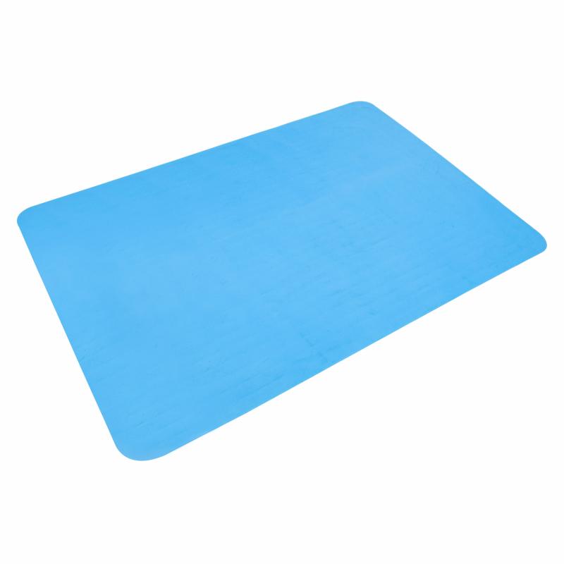Siliconen mat uitgerold