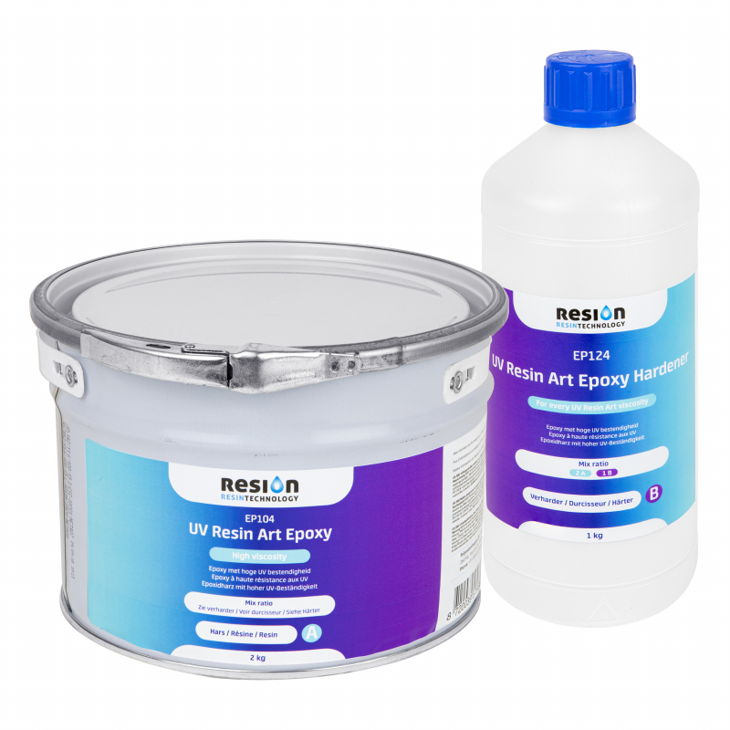 RESION UV Resin Art Epoxy HV 3 kg