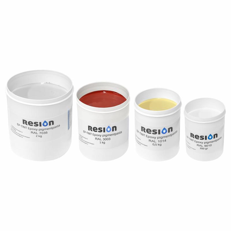 Epoxypigment pasta in kleur