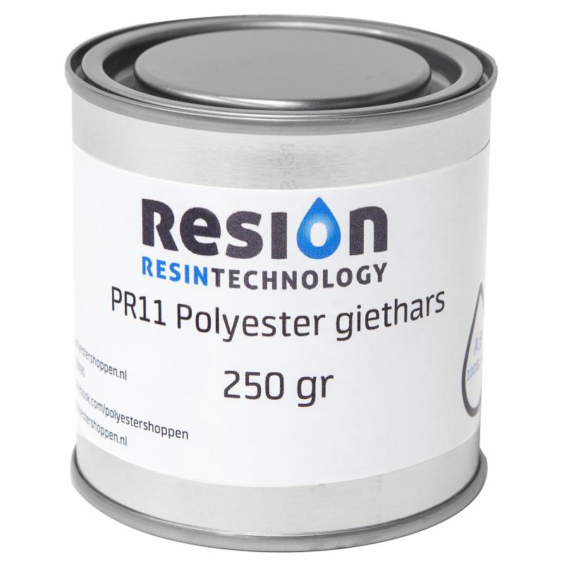 Polyester giethars transparant 250 gram