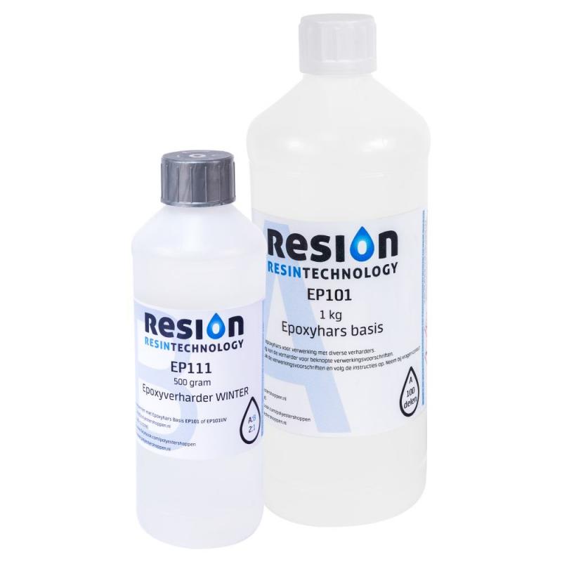 RESION winterepoxy voor gebruik bij lage temperaturen