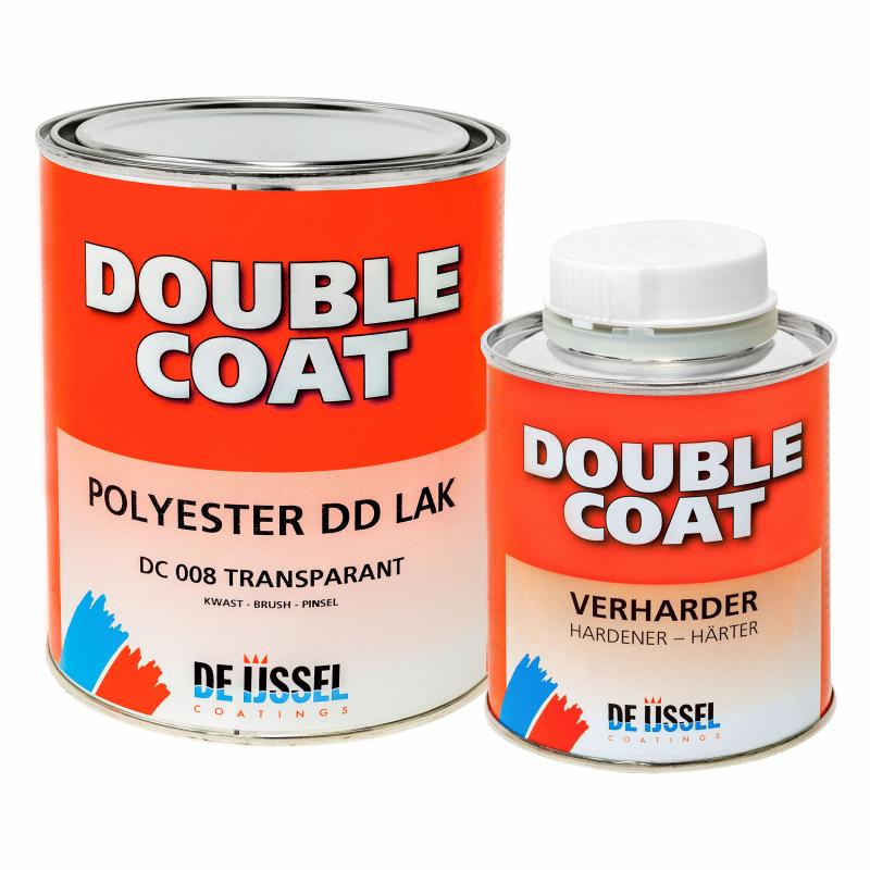 De IJssel DD lak Double Coat hoogglans 1kg met verharder