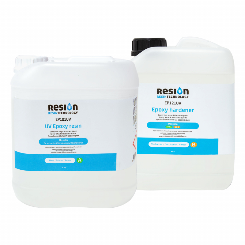RESION UV epoxy resin 8kg