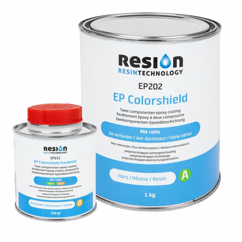 Ensemble de revêtement mural RESION EP Colorshield 1.25KG