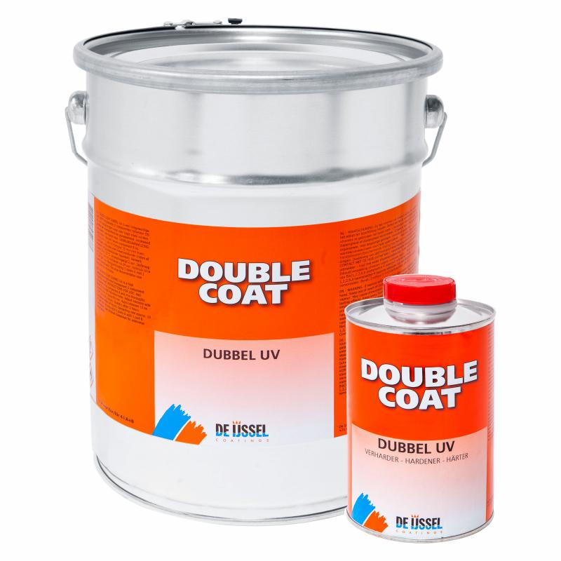 De IJssel Double Coat DD lak Dubbel UV 4 liter blik met verharder