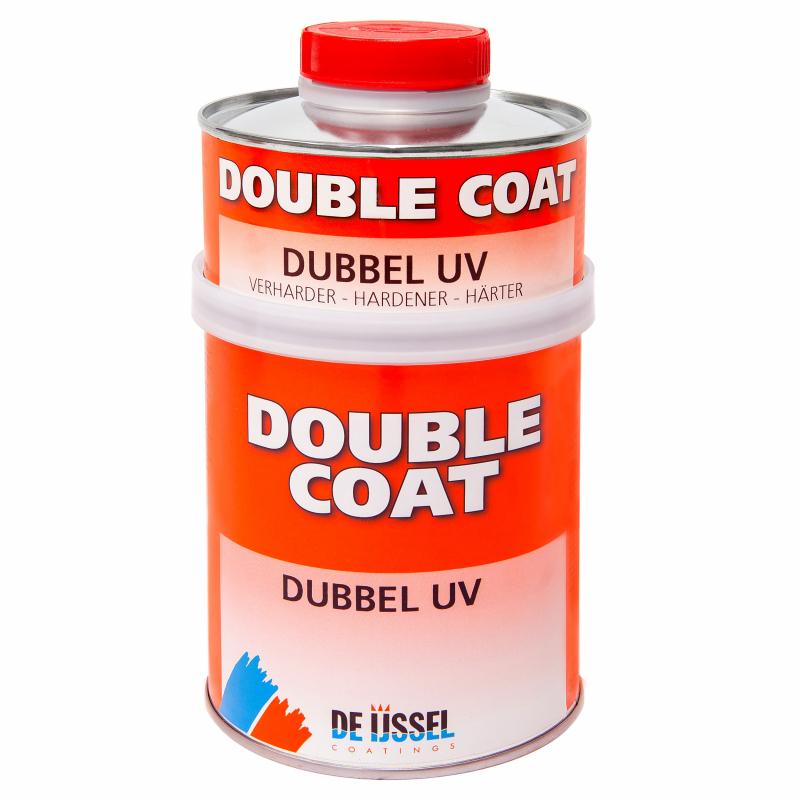 De IJssel Double Coat DD lak Dubbel UV. UV filterende 2 componentenlak